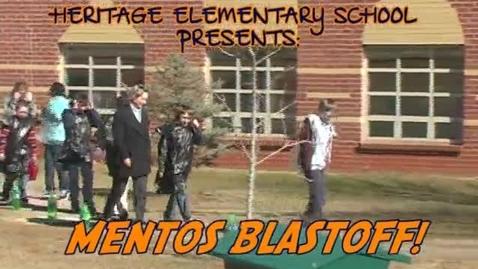 Thumbnail for entry Heritage Elementary School: Mentos Blastoff!