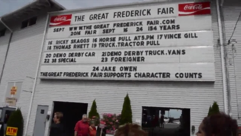 Thumbnail for entry Quill and Scroll takes on The Great Frederick Fair