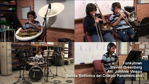 Thumbnail for entry Funkytown - Banda Sinfónica del Colegio Panamericano