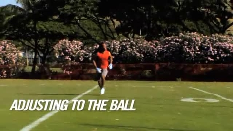 Thumbnail for entry Adjusting to the ball (Larry Fitzgerald)
