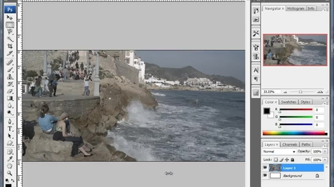 Thumbnail for entry Levels, Curves, and Saturation - Tweaking your image