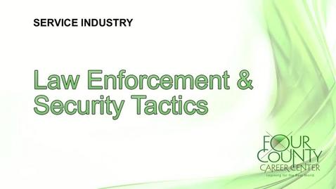 Thumbnail for entry FCCC - Law Enforcement & Security Tactics 2017