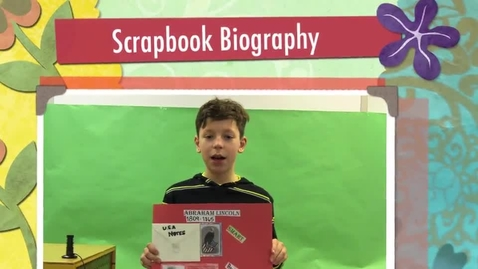 Thumbnail for entry Gavin's Scrapbook Biography
