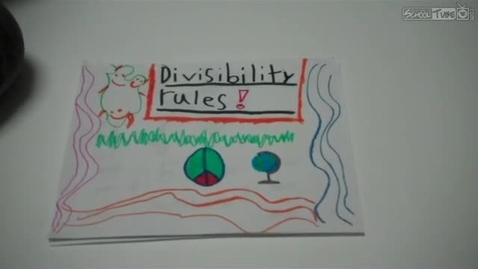 Thumbnail for entry Divisibility Rules
