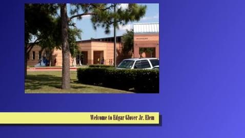 Thumbnail for entry Edgar Glover Jr. Elementary School