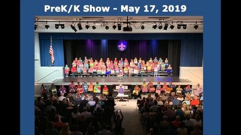 Thumbnail for entry PreK-K Show, May 17, 2019