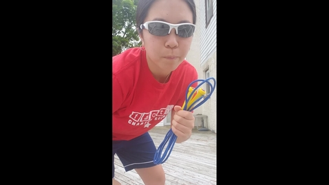 Thumbnail for entry One Foot Jump Rope Challenge