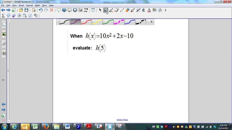 Thumbnail for entry Week 12 Quiz Question 4, functions and function notation