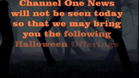 Thumbnail for entry Halloween Fright Fest 2k15