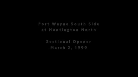 Thumbnail for entry Huntington North HS Boys' Basketball Highlights 03.02.1999 -- NBC33