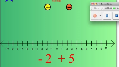 Thumbnail for entry How to Add Integers.