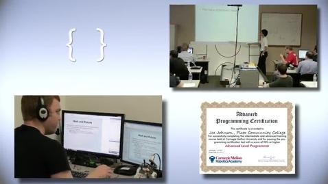 Thumbnail for entry Carnegie Mellon's Robotics Academy Teacher Certification