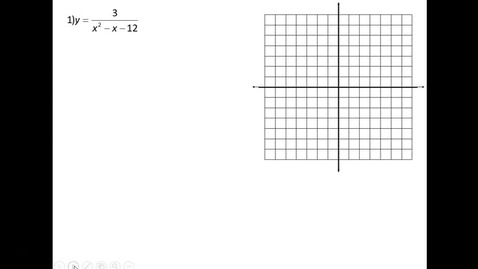 Thumbnail for entry H Math 3 Graphing Rationals