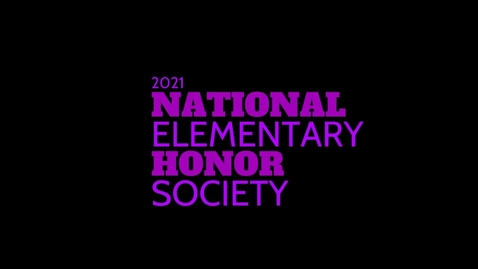 Thumbnail for entry 2021 Elem NHS ceremony