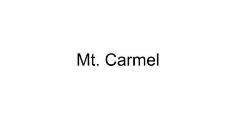 Thumbnail for entry Mt Carmel