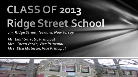 Thumbnail for entry Class of 2013 Graduates