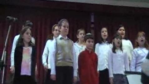 Thumbnail for entry Abrams 2008 Hanukkah Concert - Grade 4 Chorus, Part 2