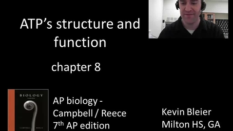 Thumbnail for entry ATP's structure and function