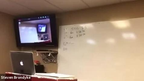 Thumbnail for entry 9/16 Math Class