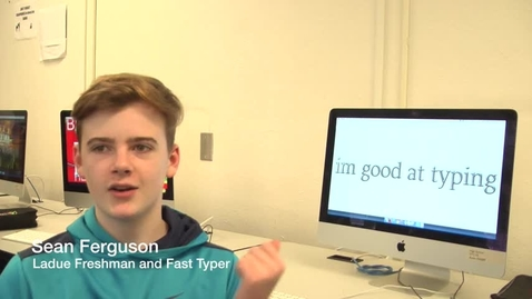 Thumbnail for entry Interview with a Fast Typer, Sean Ferguson