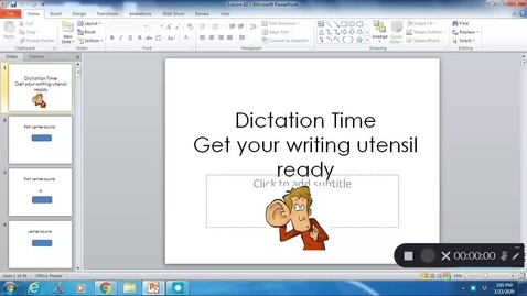 Thumbnail for entry Phonics Lesson 62