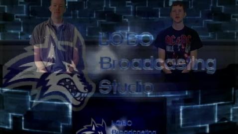 Thumbnail for entry Lobo Broadcasting Jan. 27, 2011