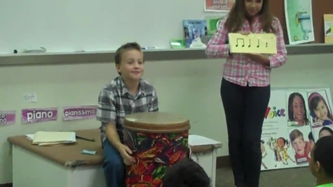 Thumbnail for entry Student led rhythms