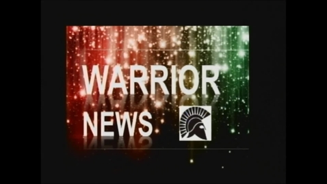 Thumbnail for entry Warrior News 9/6/13
