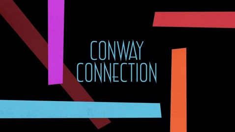 Thumbnail for entry Conway Connection Episode 11 - 10-26-15