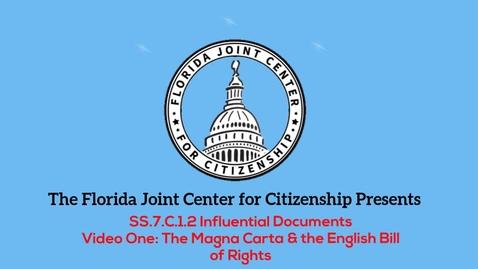 Thumbnail for entry 1.2 Magna Carta and English Bill of Rights