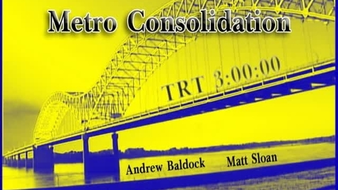 Thumbnail for entry Metro Consolidation