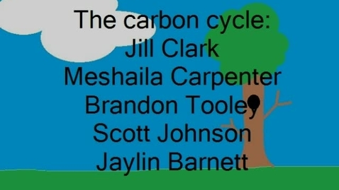Thumbnail for entry CARBON CYCLE