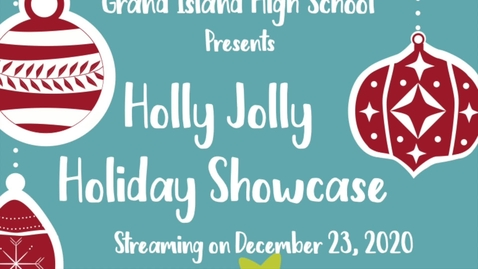 Thumbnail for entry GIHS Holly Jolly Senior Showcase 2020
