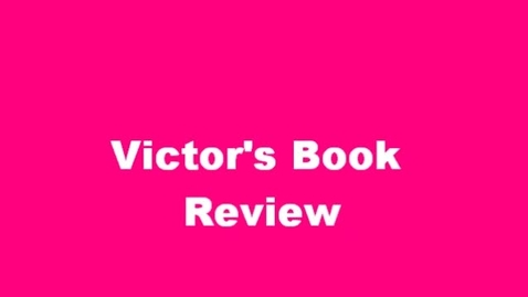 Thumbnail for entry 13-14 Sahadeo Victor's Book Review