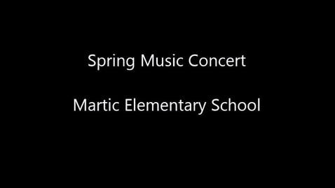 Thumbnail for entry Spring Concert