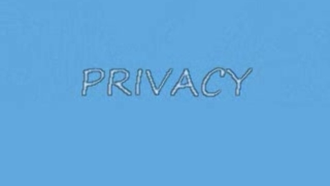Thumbnail for entry Privacy