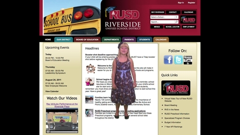 Thumbnail for entry Web Site Virtual Tour