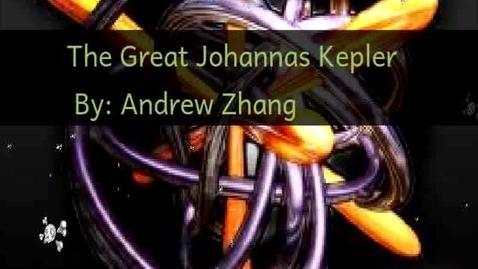 Thumbnail for entry The Great Johannes Kepler AZ