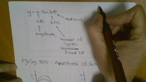 Thumbnail for entry Sine Curve (13.4) part 2