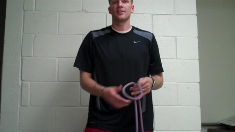 Thumbnail for entry How to tie a Single Figure 8 Knot
