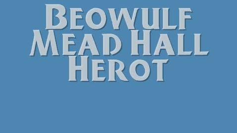 Thumbnail for entry Beowulf Mead Hall