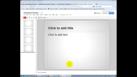 Thumbnail for entry Google = Transitions in Google Presentations