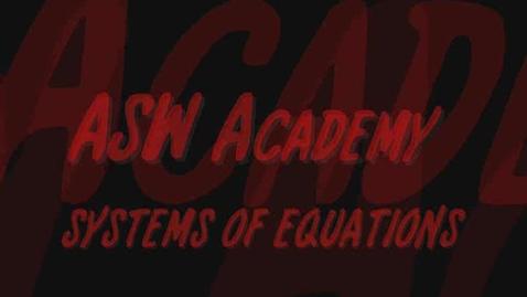 Thumbnail for entry ASW Academy - Damek & Michal