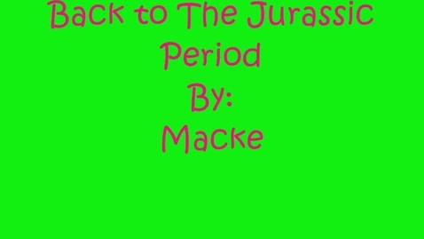 Thumbnail for entry Jurassic Time Travel