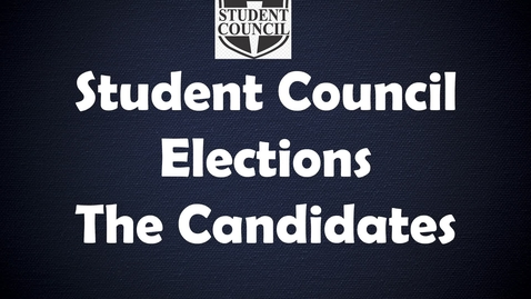 Thumbnail for entry Wilson Student Council Elections Fall 2021