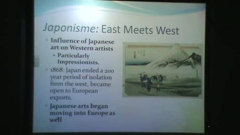 Thumbnail for entry Impressionism: Japonisme and Manet