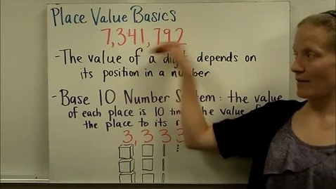 Thumbnail for entry Place Value Basics