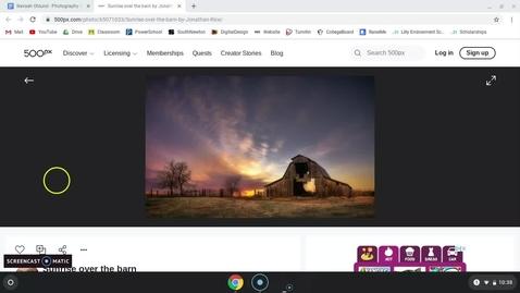 Thumbnail for entry Nevaeh Photo Critique