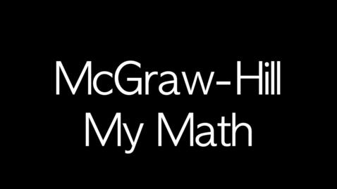 Thumbnail for entry MCGraw-Hill Math Elementary Adoption Presentation