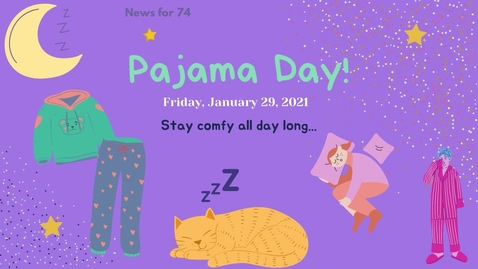 Thumbnail for entry MS74 Pajama Day January 29, 2021